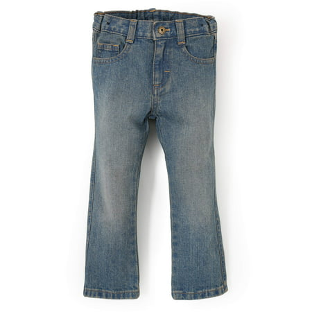 be46f91b Wrangler - Wrangler Toddler Boy Slim Straight Jeans - Walmart.com