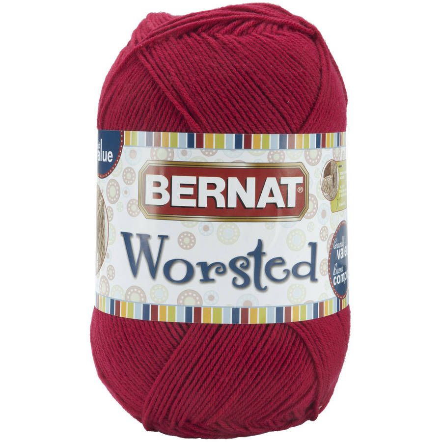 Bernat Big Ball Worsted Solid Yarn