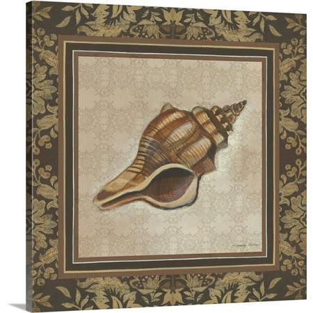 Great Big Canvas Kimberly Poloson Premium Thick Wrap Canvas Entitled Shell Elegance I