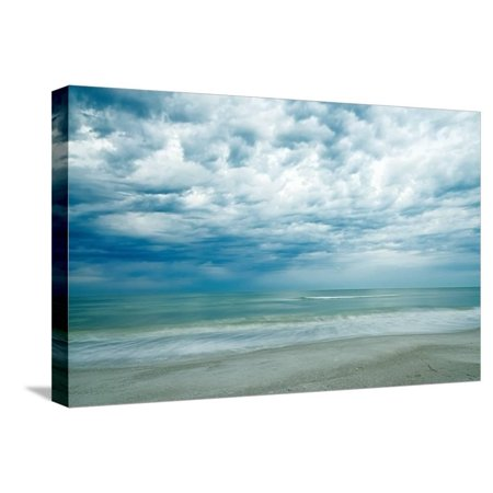 Morning at the Beach Stretched Canvas Print Wall Art By Chuck Burdick