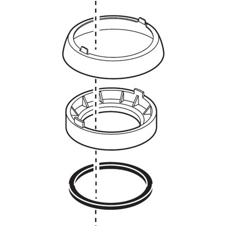 Base Trim - Delta RP52610 Apex Trim Ring, Base and Gasket