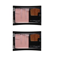 Maybelline FIT Me! Blush Light Rose (Pack of 2) + Makeup Blender Stick, 12 Pcs