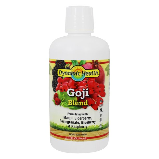 Dynamic Health Goji Blend With Maqui Elderberry Pomegranate