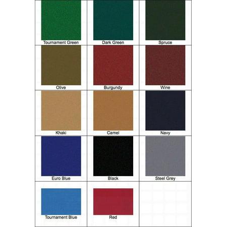 7' Proform High Speed Professional Pool Table Cloth Felt - Olive Olive Billiard Cloth