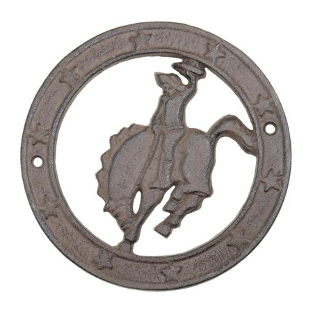 Outlaw Iron Works (802-DP-31716) Saddle Bronc Rider 6
