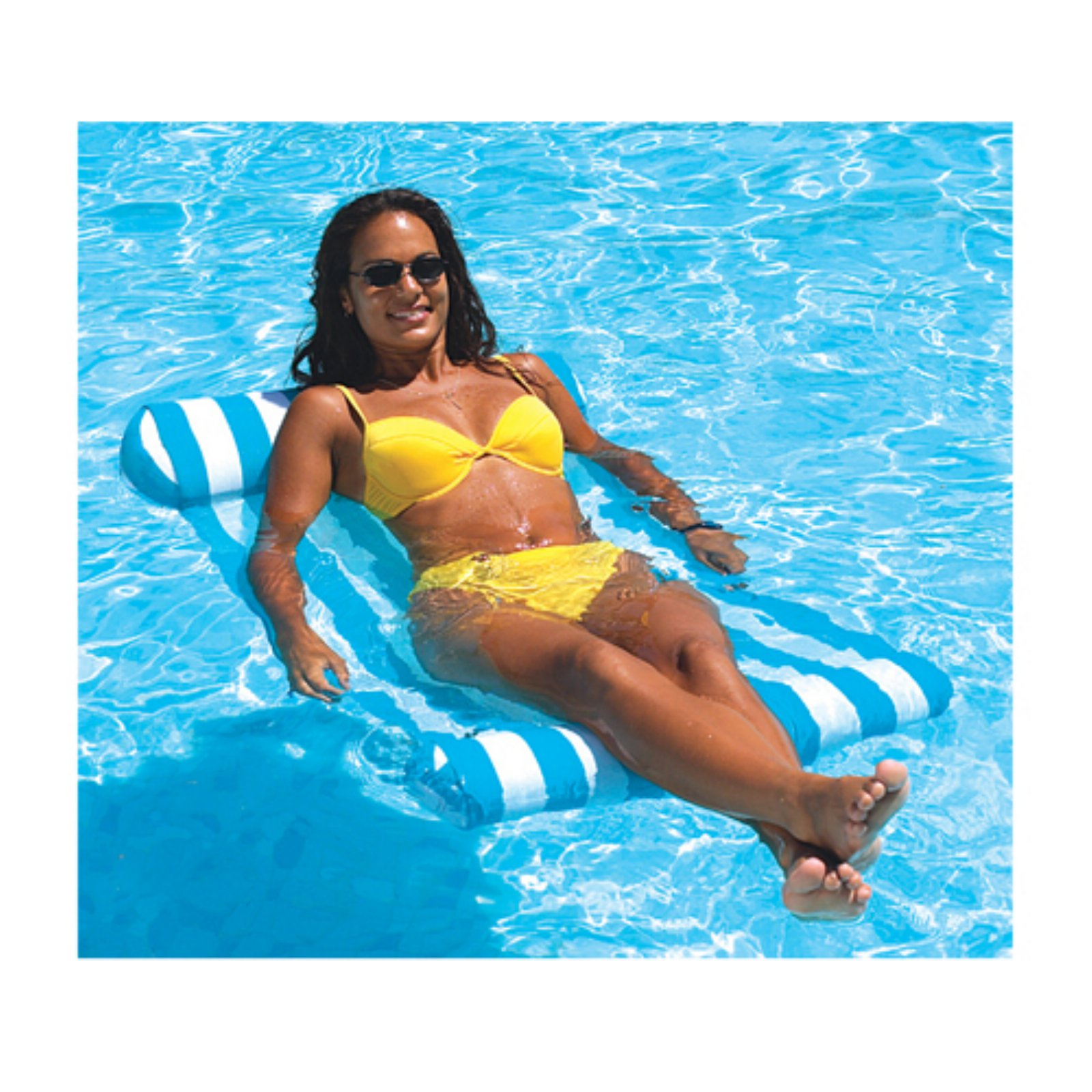 Premium Water Hammock Pool Float by INTERNATIONAL LEISURE PRODUCTS