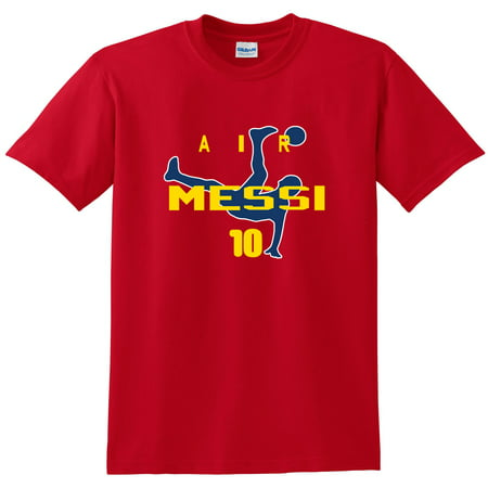 Shedd Shirts Red Lionel Messi FC Barcelona