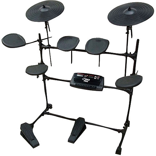 Pyle Pro Electric Thunder Drum Set with MP3 Recorder