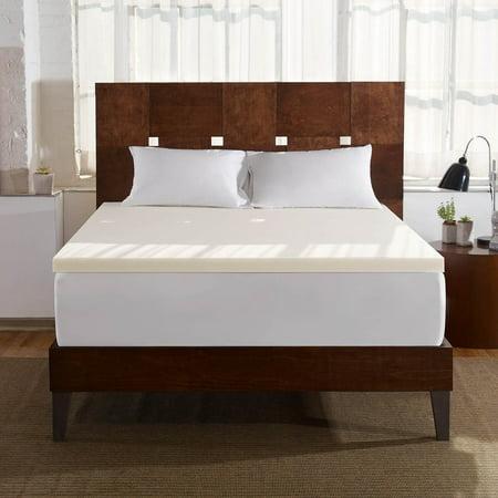 Sleep Innovations 2-inch Memory Foam Mattress Topper, Multiple (Sleep Innovations Mattress Topper)