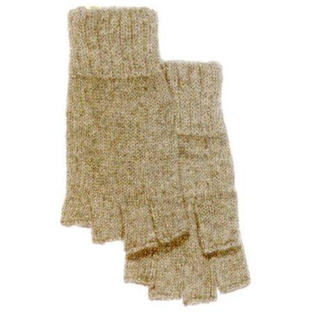 Boss Large Fingerless Ragg Wool Gloves