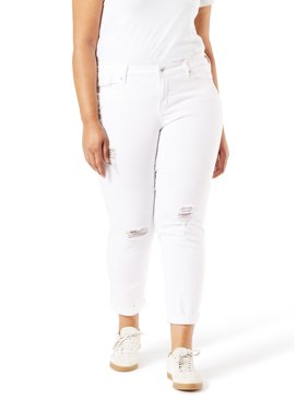 Signature by Levi Strauss & Co. Women's Modern Slim Cuffed Jeans