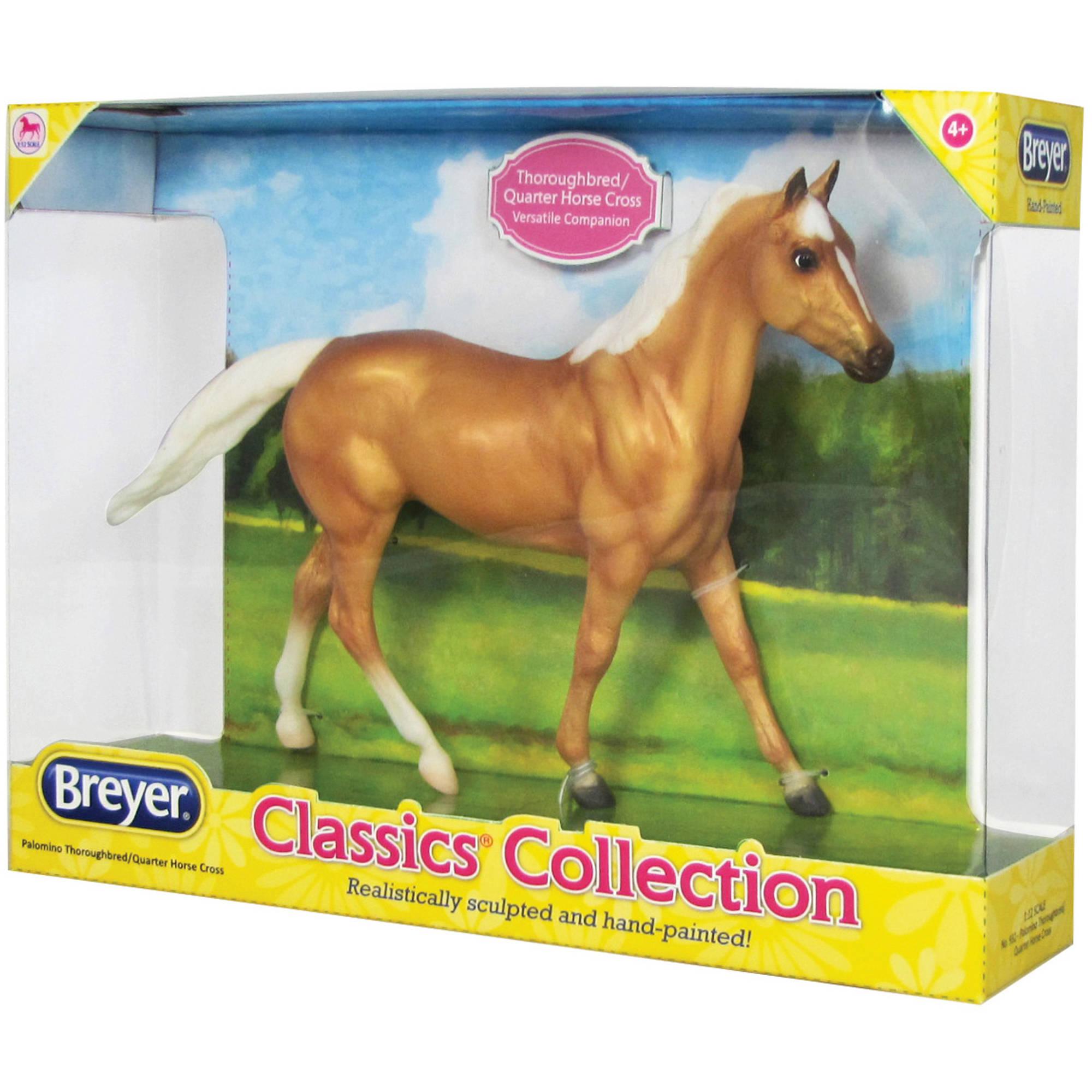 Breyer Classics Palomino Thoroughbred/Quarter Horse Cross