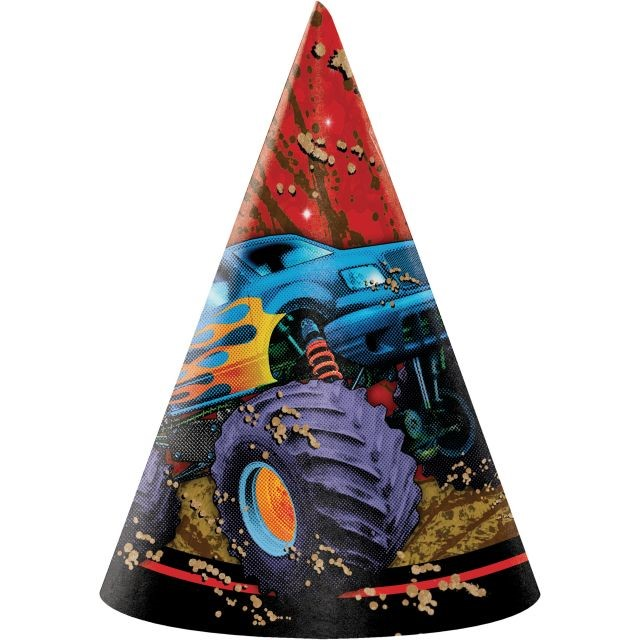 Access Mudslinger Child Size Paper Party Hats, 8 Ct