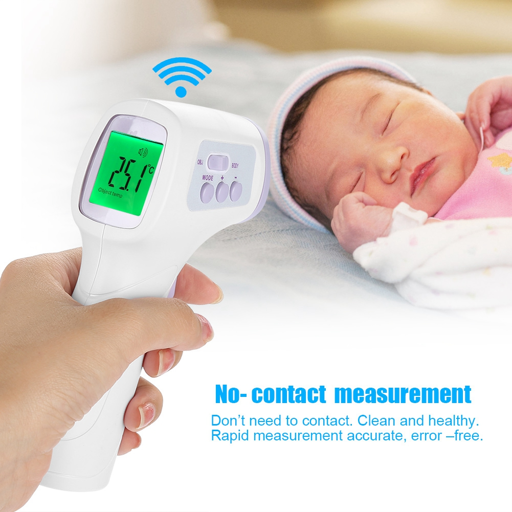 Yosoo LCD Digital Non-contact IR Infrared Thermometer Forehead Body Temperature Meter , Digital Non-contact IR Infrared Thermometer, Thermometer