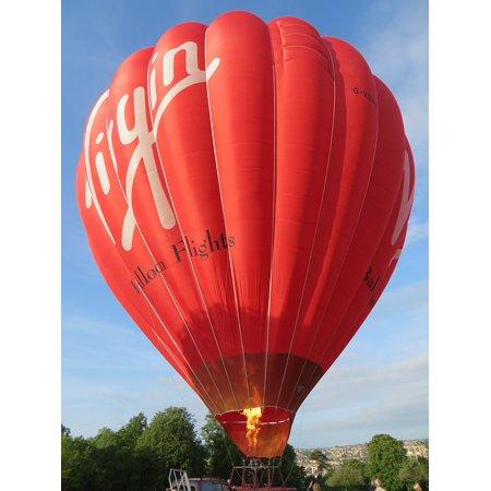 LAMINATED POSTER Basket Hot Air Balloon Balloon Bath Poster Print 24 x 36