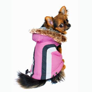 Swiss Alpine Ski Dog Vest by Hip Doggie - Red X-Large