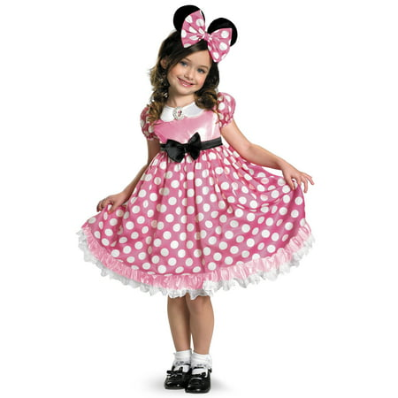 The Vault Club Halloween (Mickey Mouse Clubhouse: Pink Minnie Glow In The Dark Dot Dress)