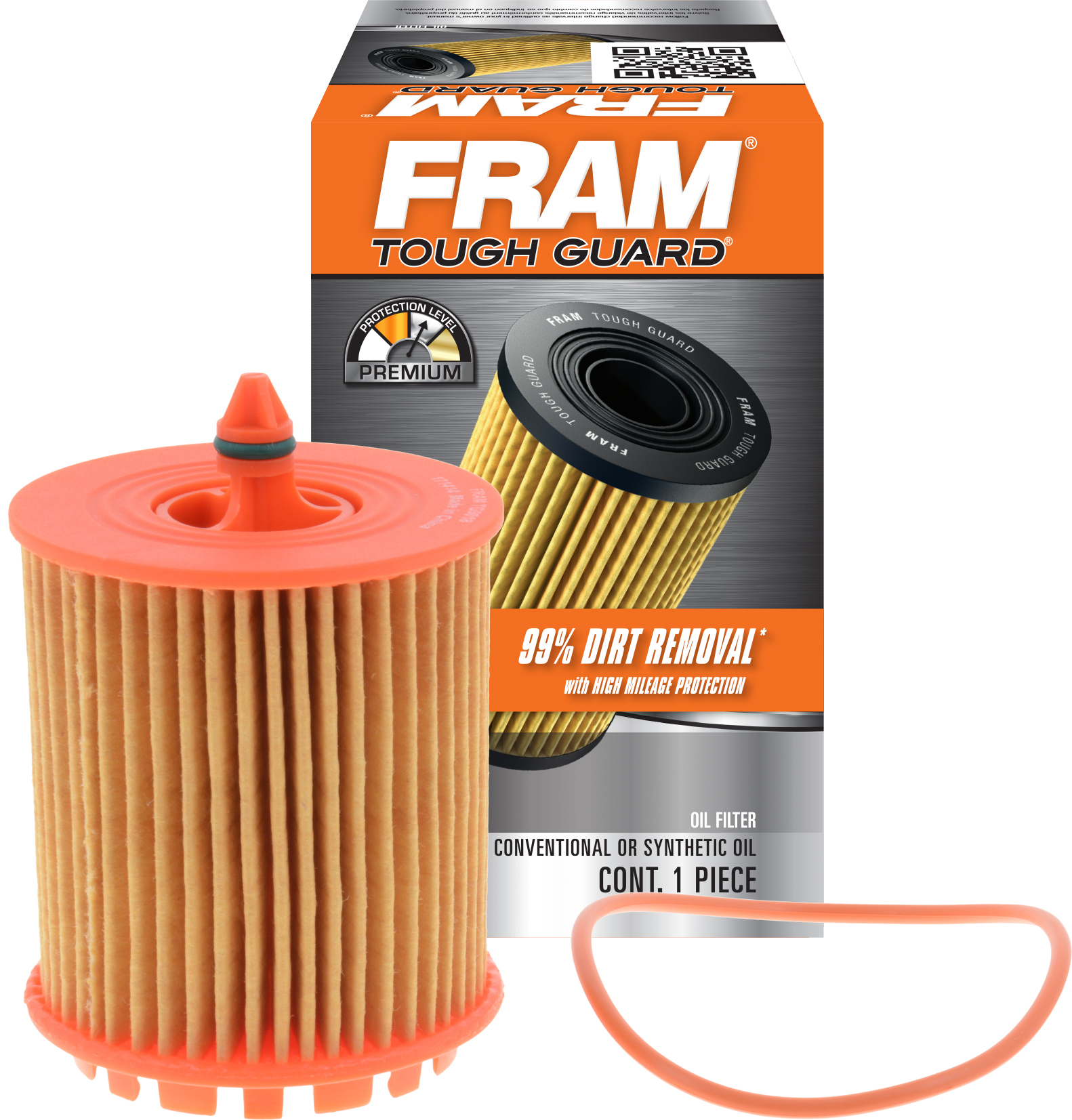 FRAM Tough Guard Oil Filter, TG9018