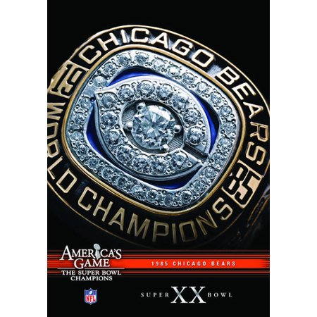 NFL America's Game: Chicago Bears Super Bowl XX (DVD) (Super Bowl Crafts)