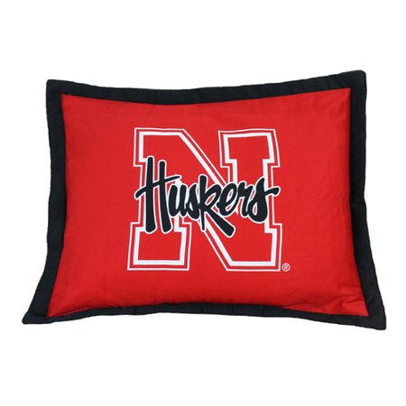 College Covers NCAA Nebraska Pillow Sham