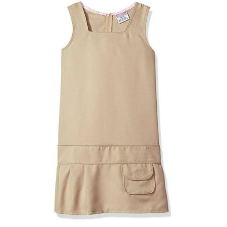 Design A Uniform (Genuine Uniform Girls Square Neck Drop Waist Jumper )