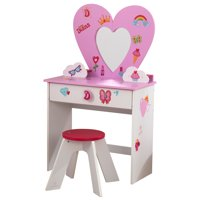 KidKraft Love Diana Heart Vanity Toy Set