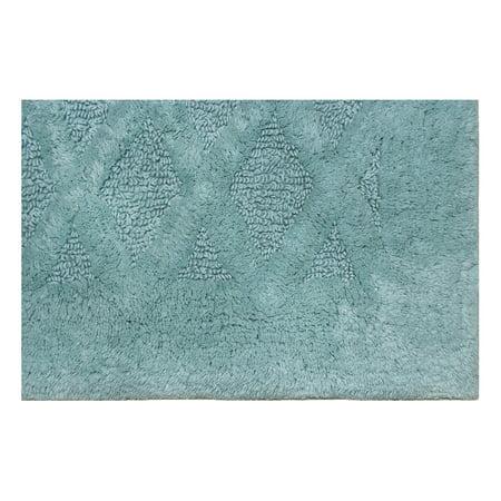 Better Homes & Gardens Diamond Texture Bath Rug - Aquifer
