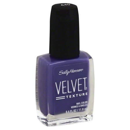 Sally Hansen Special Effects Velvet Texture Nail Color, Velour, 0.4 ...