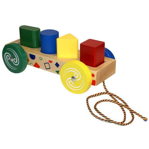Holgate Toys Form Peg Wagon