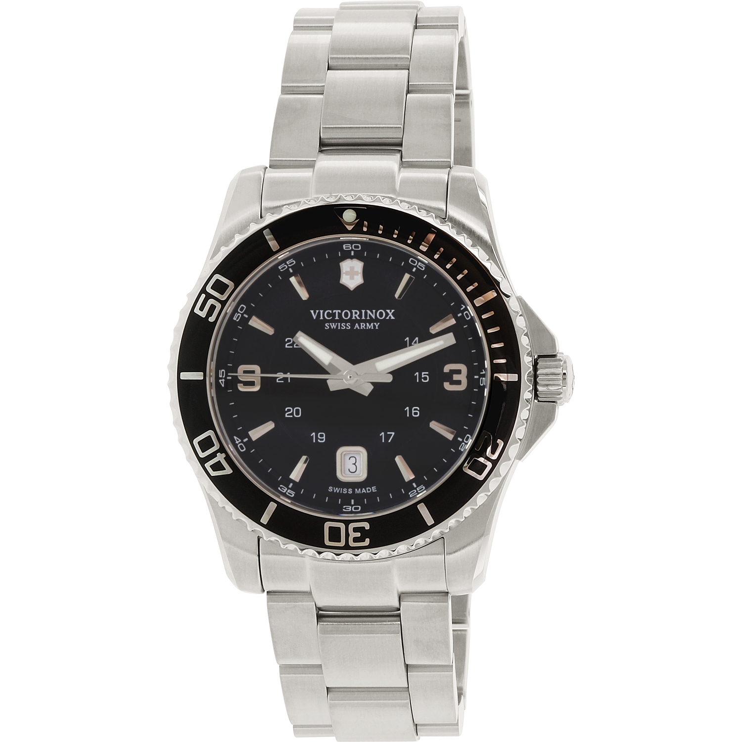 Victorinox Swiss Army Maverick Black Dial Mens Watch 241697
