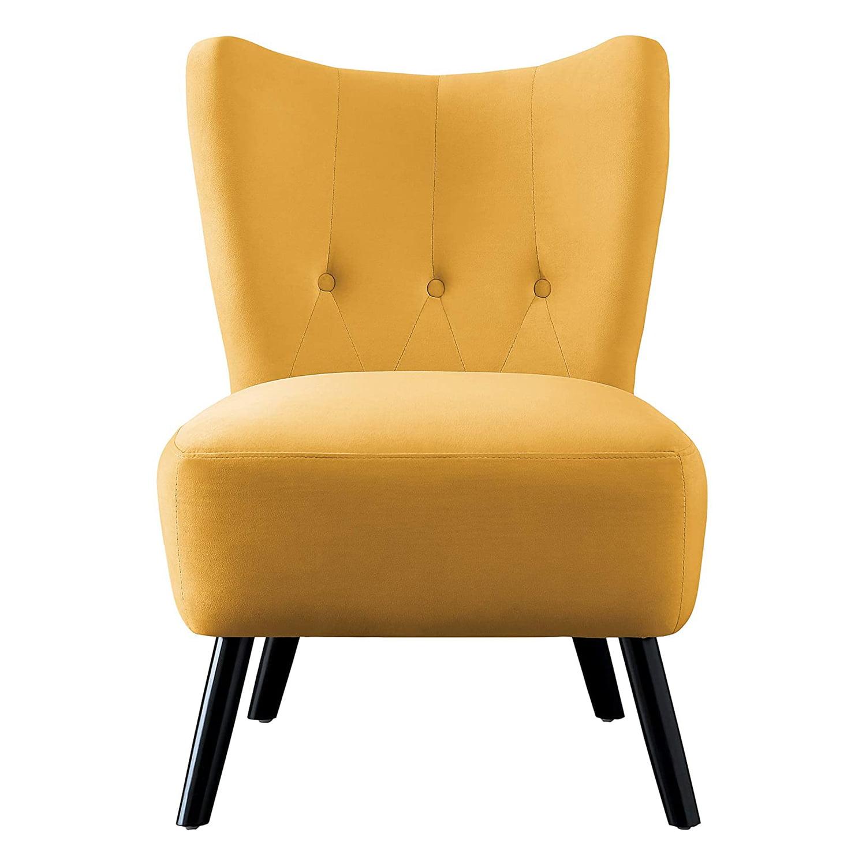 Picture of: Homelegance Imani Mid Century Modern Velvet Accent Upholstered Chair Yellow Walmart Com Walmart Com