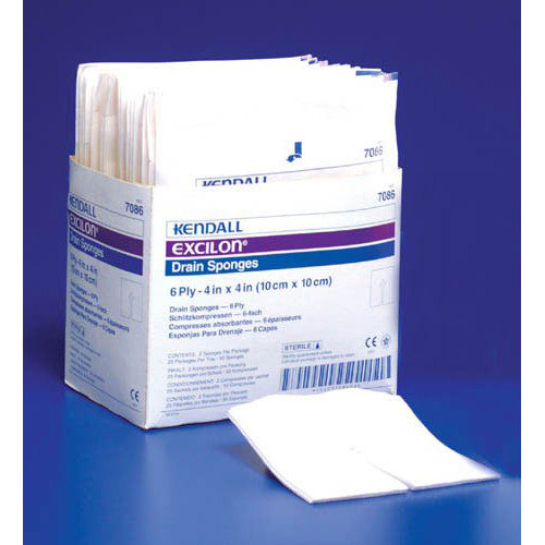 Kendall Healthcare Products Excilon Drain Sponge