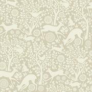 Chesapeake Anahi Neutral Forest Fauna Wallpaper
