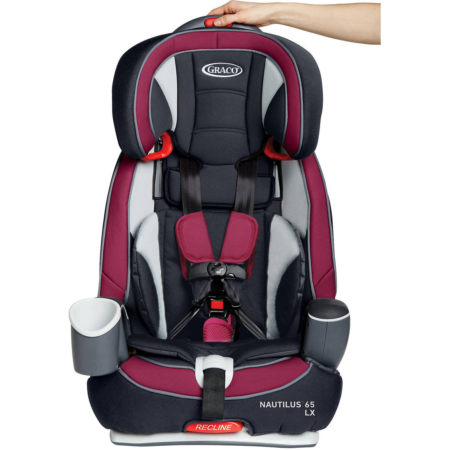 Graco Nautilus LX 65 3 In 1 Harness Booster Car Seat Ayla