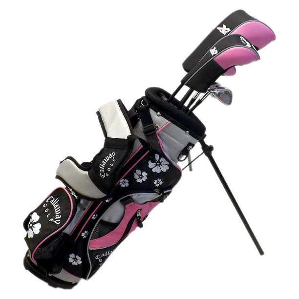 New Left Handed Girls Callaway Xj Junior Complete Golf Set Ages 5 8 Retail 250 Walmart Com Walmart Com