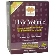 New Nordic Us, Inc Hair Volume 90 Tablet, Pack of 2