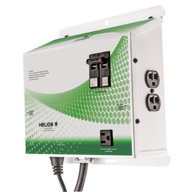 Titan Controls Helios 9 - 4 Light Timer w/ Circuit Breake...