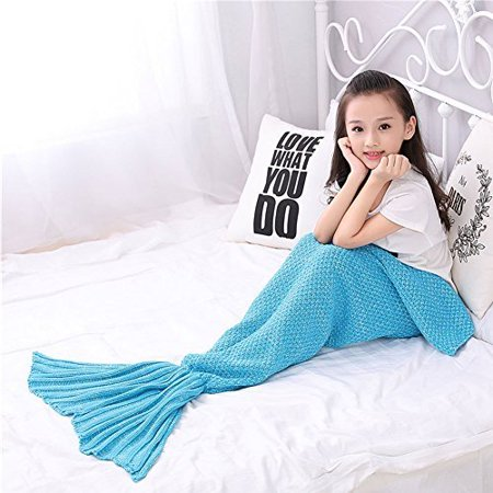 Mermaid tail blanket mermaid blanket blanket and throws for kids and Adult Mermaid Crochet Knitting Blanket, Best Birthday Christmas Gift Blanket Handmade Living Room Sleeping Blanket, - Mermaid Tails Ebay