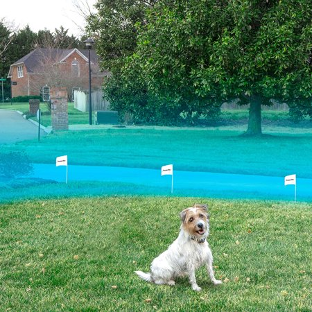 Premier Pet Wireless Fence - Portable - 1/2 Acre Coverage