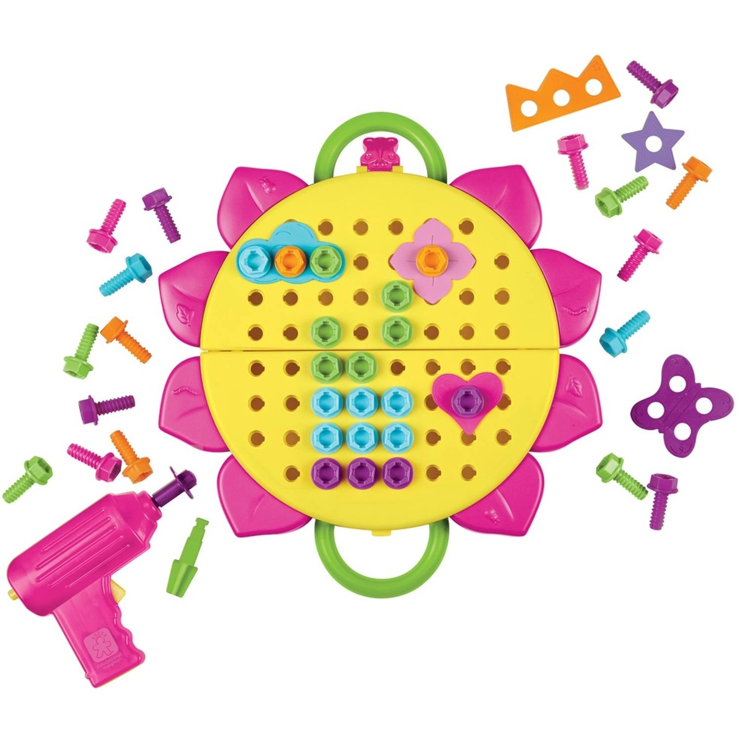 Educational Insights Design Drill Flower Power Studio Walmartcom