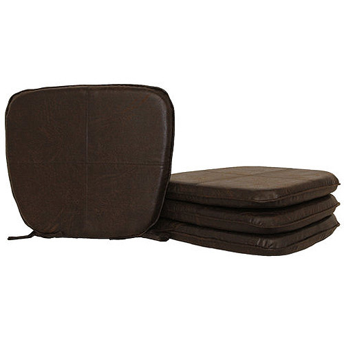 Hometrends Faux Leather Chair Pad