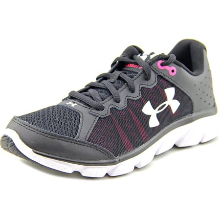 Under Armour UA Micro G Assert 6 Women  Round Toe Synthetic Black Running