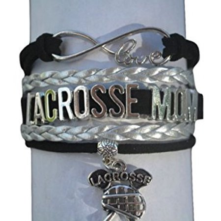 Lacrosse Mom Bracelet- Mom Jewelry - Perfect Gift For Moms