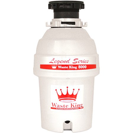 Waste King Food Disposer L 8000 1 Hp Ez Mount