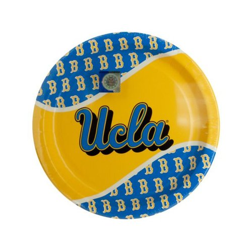 Bulk Buys UCLA Bruins Party Plates, Case of 24