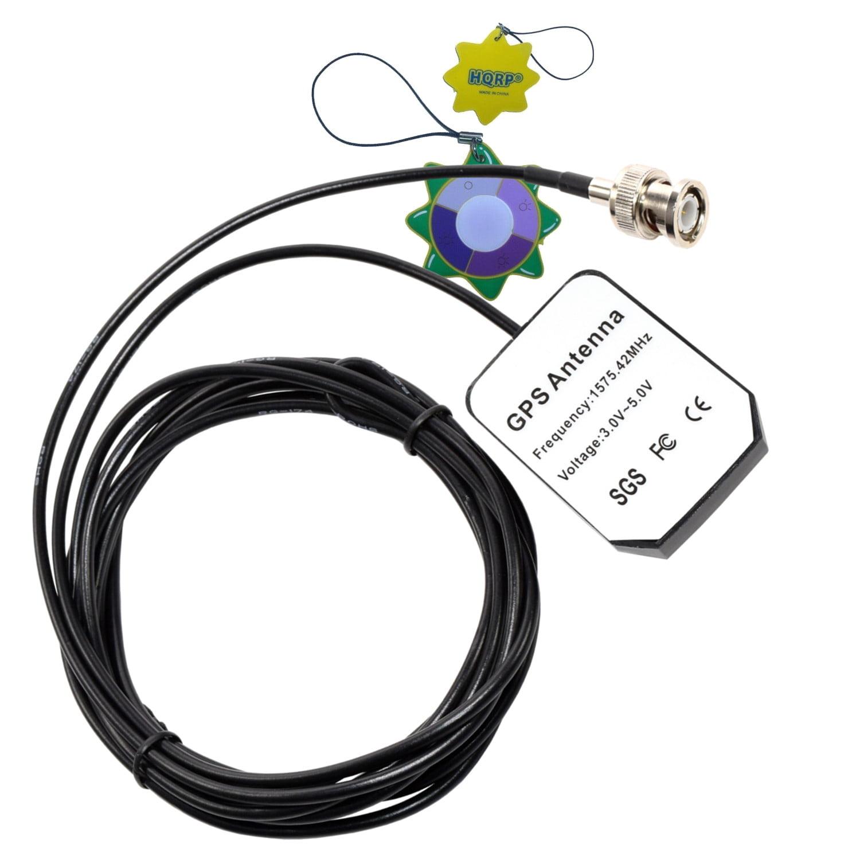 HQRP GPS Antenna for Garmin GPSMAP 176, 176C, 178C Sounder, 180, 182, 182C, 185 Sounder + HQRP UV Meter