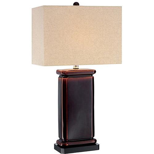Etan Table Lamp, Coffee