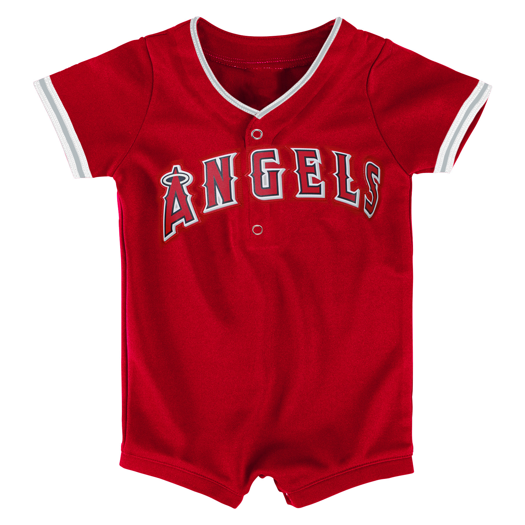 Los Angeles Angels Newborn & Infant Replica Romper - Red