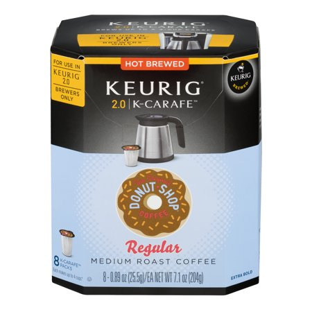 Keurig  The Original Donut Shop K-Carafe Pods (8-Pack) Multi