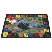 Joy Carpets We Dig Dinosaurs Kids Area Rug